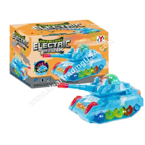 BO tank with light and music  (60 pcs/ctn)