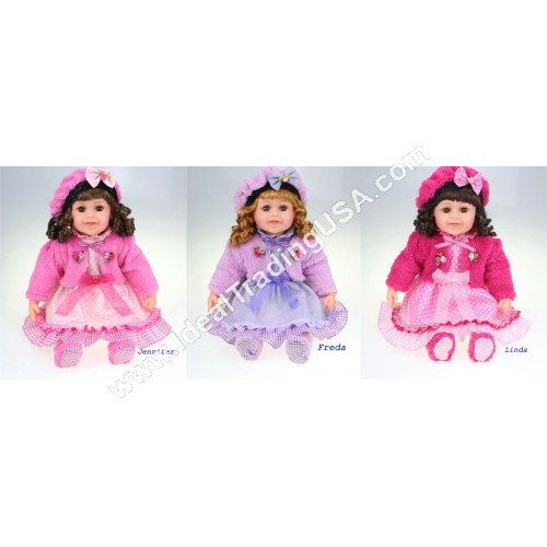 "23"" Cathay Dolls (14pcs/Box)"