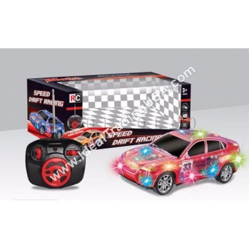 1:18th 4CH RC 4D Light Car (36pcs/Box)