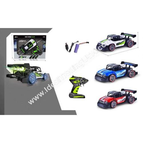 1:16 R/C Car rechargeable w/ smoke (18pcs/box)