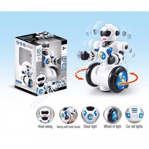 B/O Dancing Robot w/ Sound and Light (36pcs/Box)