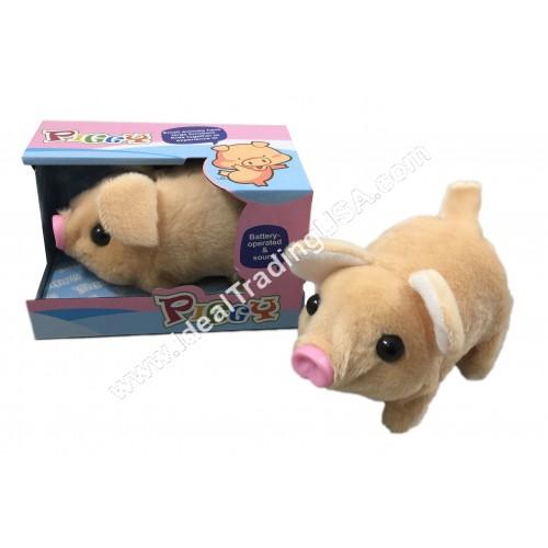 B/O PIG w/color box (48pcsbox)