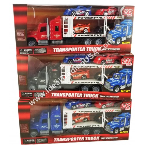 Truck w/ 4 Cars (36pcs/Box)