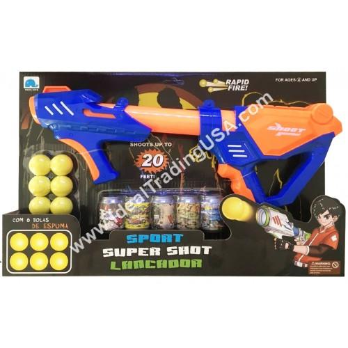 Soft Bullet Gun set with targets (28pcs/Box)