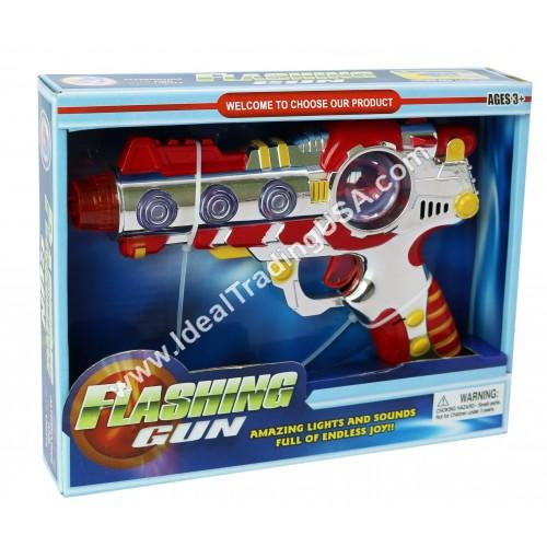 B/O Toy Gun w/ Lights & Music (48 pcs/ctn)