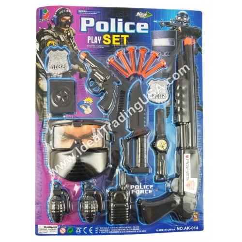 Blister Pack Police Series (24pcs/Box)