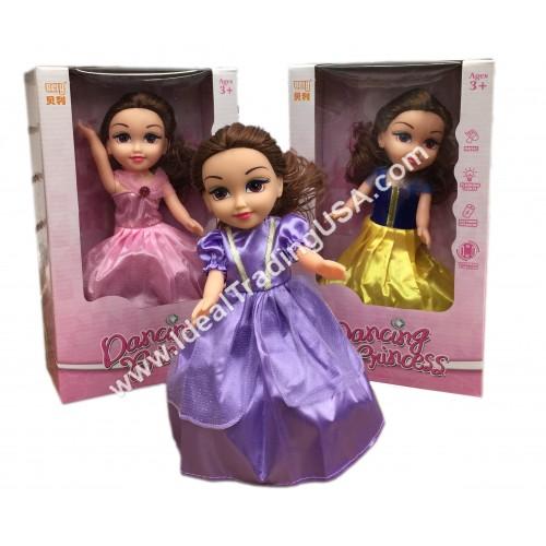 B/O Dancing Princess w/music & ligths (36pcs/box)