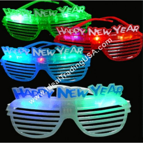 Happy New Year Glasses  (30dz/Box)