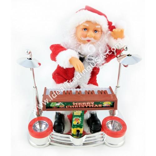 Santa playing piano (assorted) (24pcs/Box)