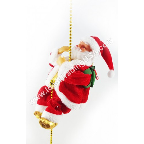 Climbing Rope Santa (24pcs/Box)