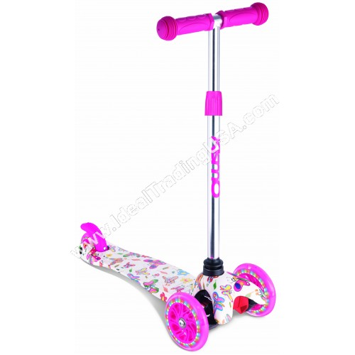 Pink  3 Wheel Scooter (6pcs/Box)
