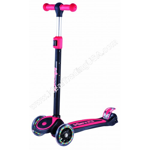 Red 3 Wheel Scooter (6pcs/Box)