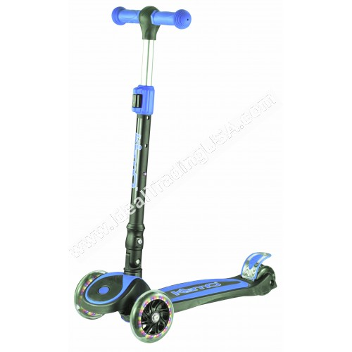 Red  Foldable 3 Wheel Scooter (6pcs/Box)