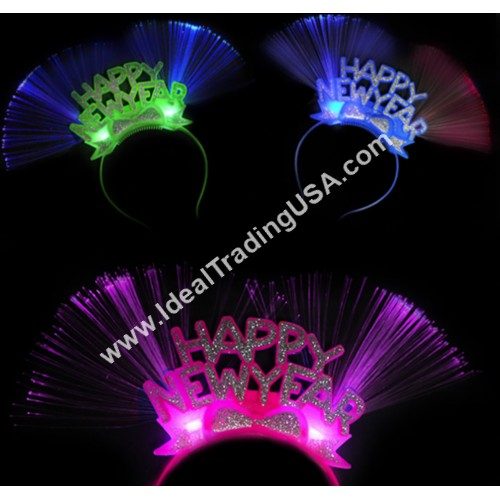 Happy New Year Headband (24Dz/box)