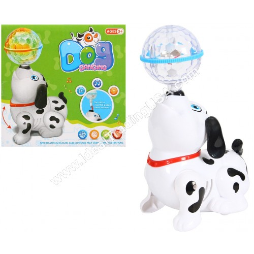 B/O Dancing Dog w/ Light & Music (48pcs/Box)
