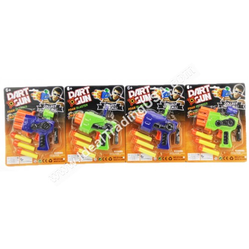 Dart Gun Play Set (96 pcs/Box)